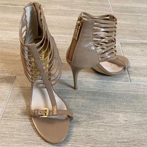 Michael Kors tan heels